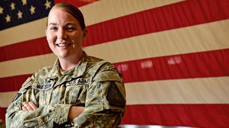 Staff Sgt. Marlana Watson, of the Army National