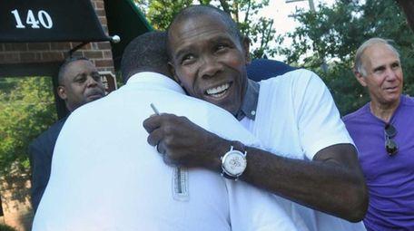 Olympic gold medal boxer Howard Davis, Jr., a