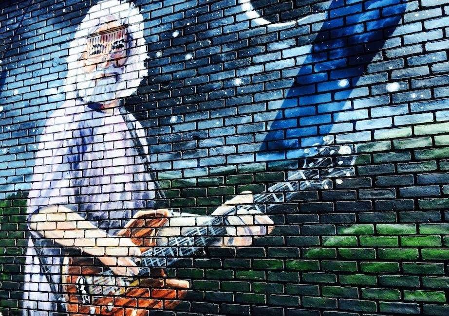 Recognize him? That's Jerry Garcia, the late lead