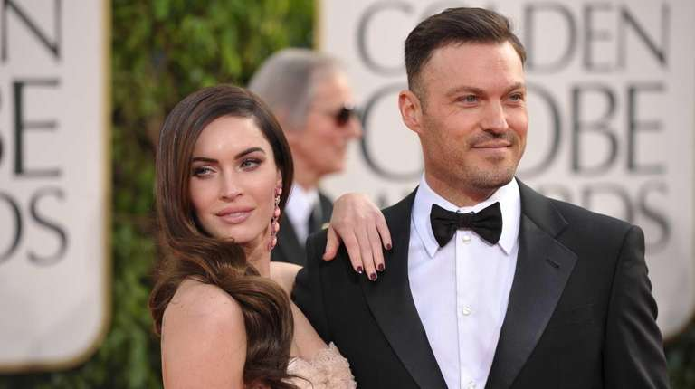 Megan Fox and Brian Austin Green at the
