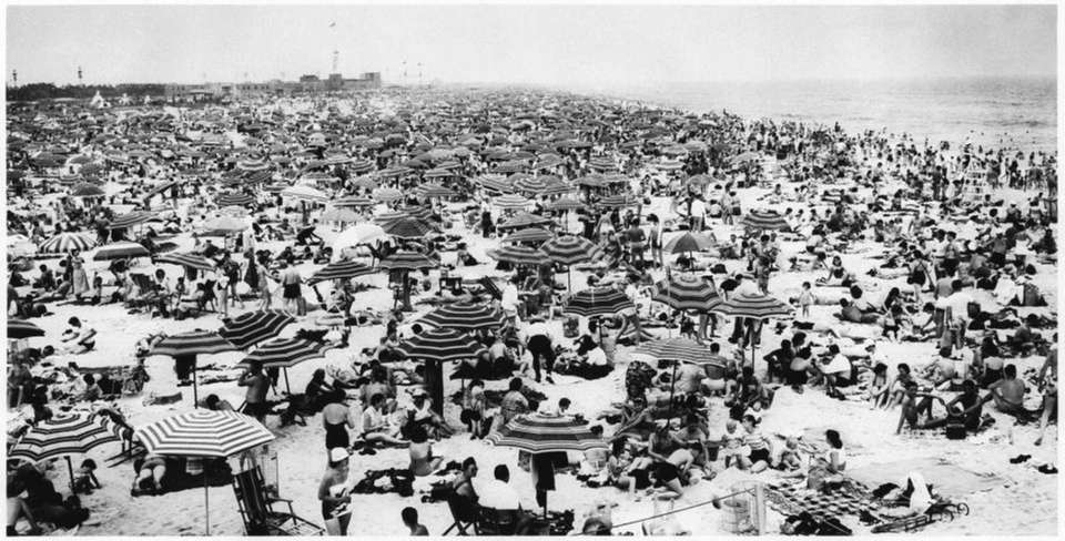 Jones Beach in 1952.
