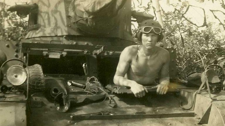 Frank Bradford of Freeport, in a 1944 image