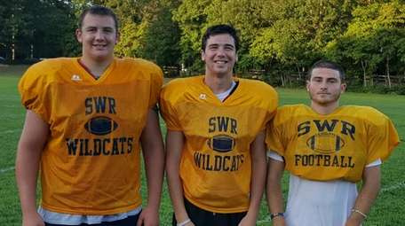 From left, Ethan Wiederkehr, Jason Curran and Chris