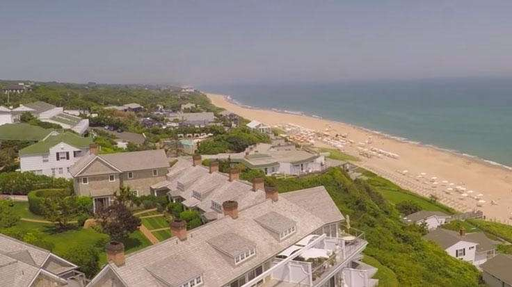 Long Island-based drone videographer Andrew LePre captured sweeping