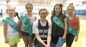 385) Kidsday reporters from Girl Scout Troop 1508
