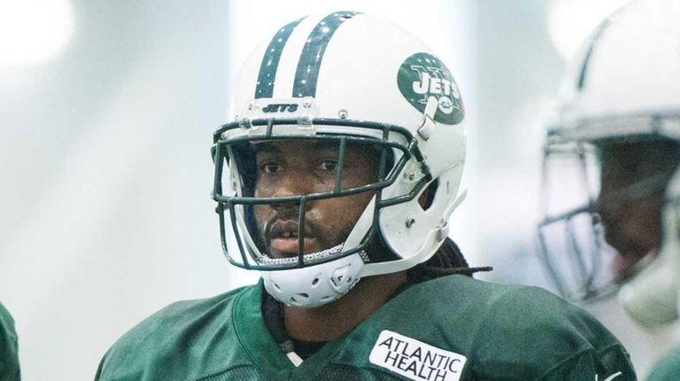 New York Jets cornerbacks Marcus Williams (20) and