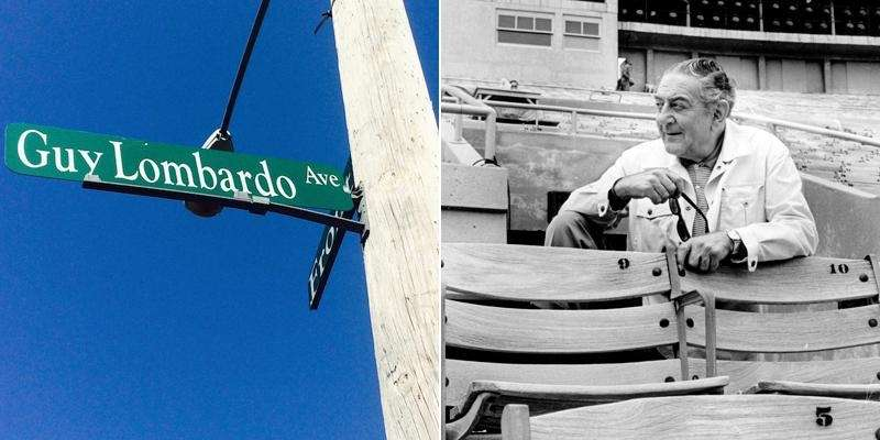 If you follow Guy Lombardo Avenue down from