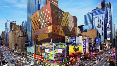 Times Square includes The Westin New York at