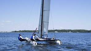 Sailing is a major attraction in Oyster Bay.