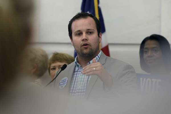 Josh Duggar , pictured on Aug. 29, 2014,