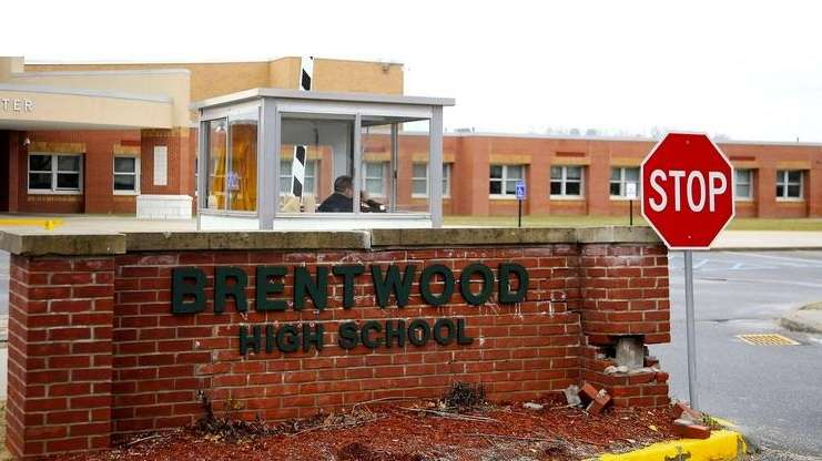 Brentwood High School is pictured in a