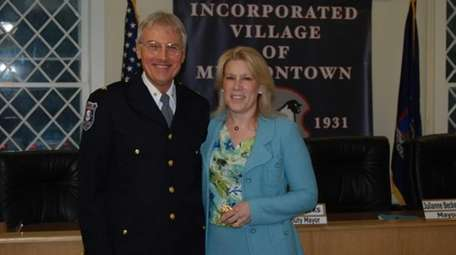 Muttontown Police Chief Phil T. Pulaski and Mayor