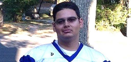 Nikolas Visco, a Riverhead High School varsity football