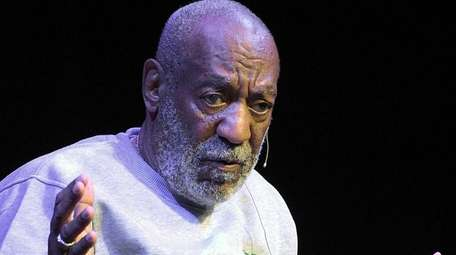 Bill Cosby performs during a show at the