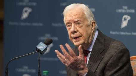 Former President Jimmy Carter talks about his cancer