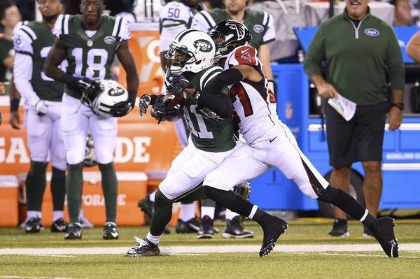 New York Jets wide receiver Jeremy Kerley brings
