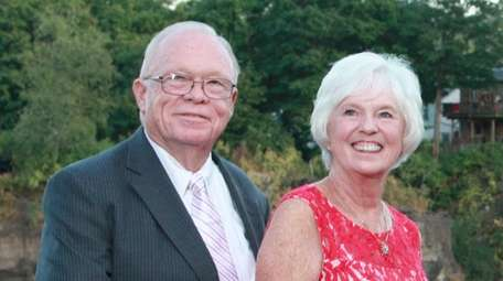 Bob and Anne Burke of Southold celebrated their