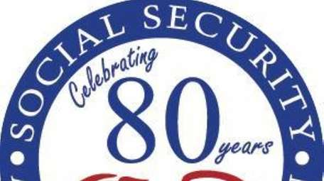 Logo for Social Security's 80th anniversary.