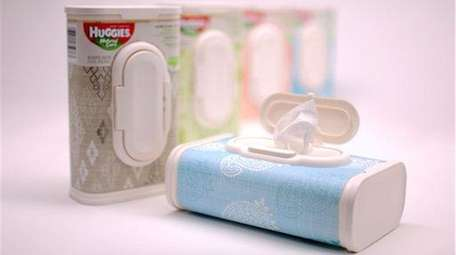 Huggies wipes are shown in this file photo.