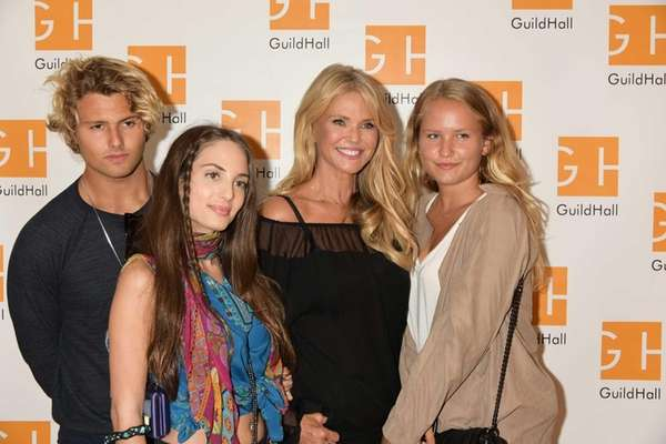 Jack Cook, Alexa Ray Joel, Christie Brinkley and