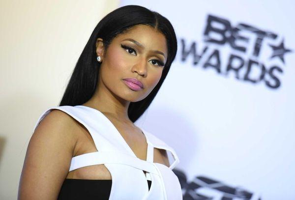 Nicki Minaj at the BET Awards at the