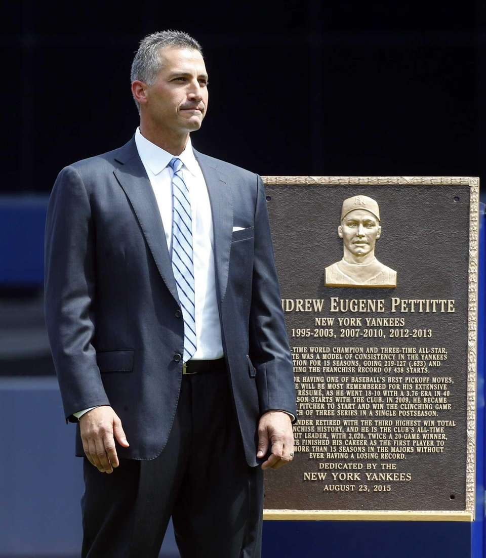Number retired: Aug. 23, 2015 Yankees stats: 219-127,