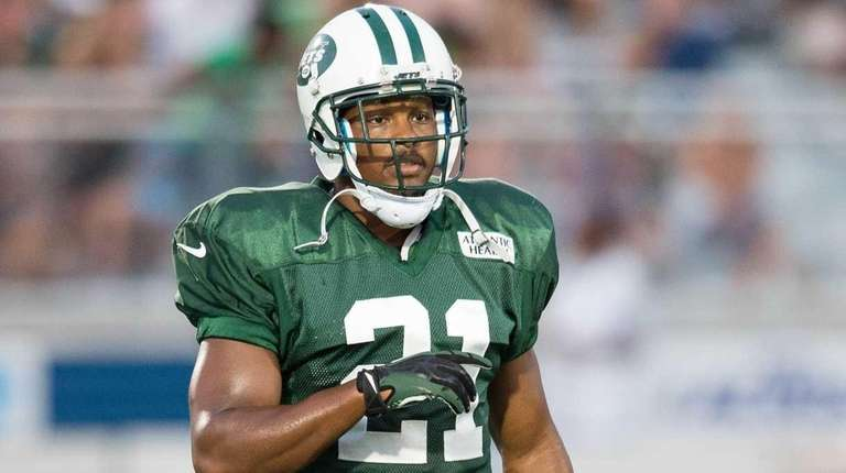 New York Jets defensive back Marcus Gilchrist during
