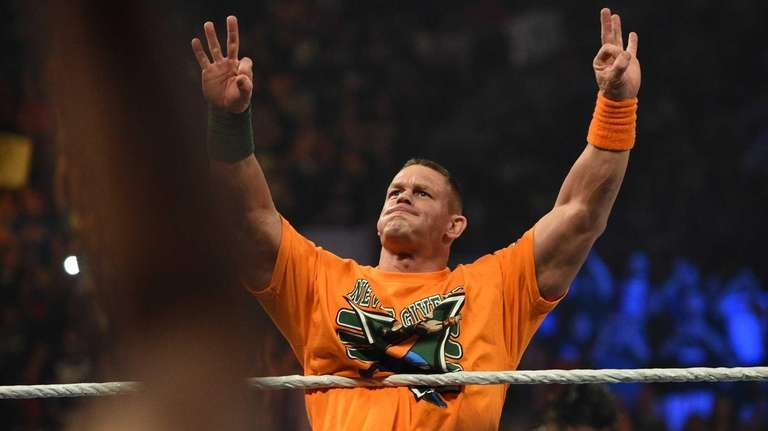 John Cena, who defeated Seth Rollins to win