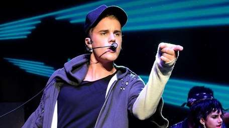 Justin Bieber performs during the Billboard Hot 100
