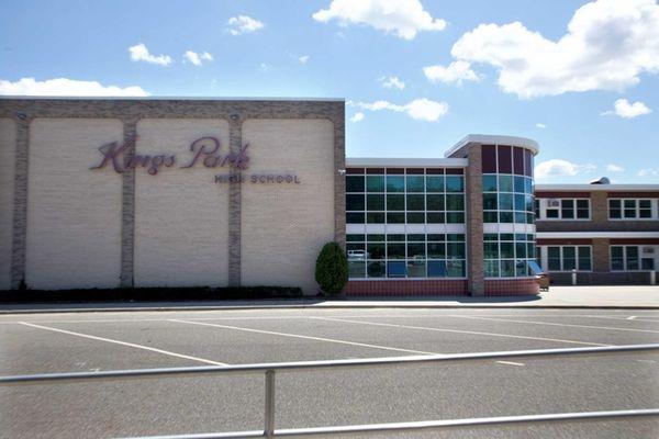 Kings Park High School in Kings Park is