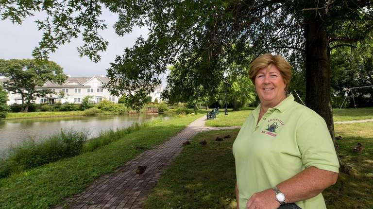 Corinne Budde, a horticulturalist who is the Village