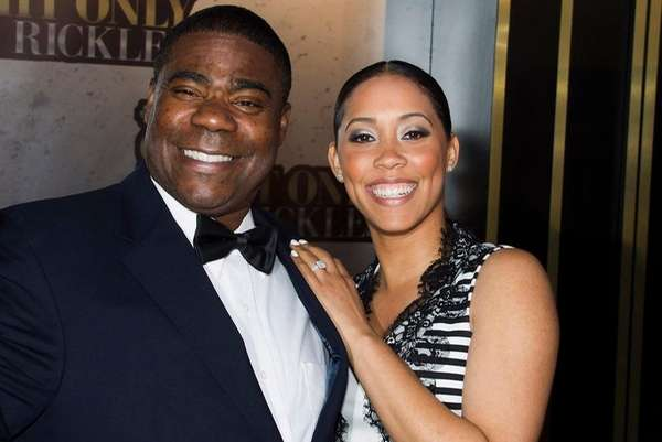 Tracy Morgan and Megan Wollover attend One Night