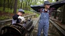 3. Ride the rails at Southaven County Park
