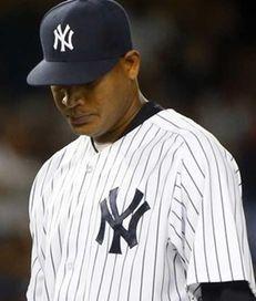Ivan Nova of the New York Yankees hands
