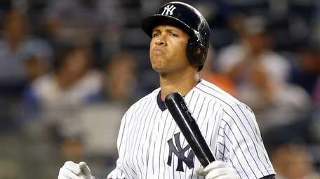 Alex Rodriguez of the New York Yankees walks