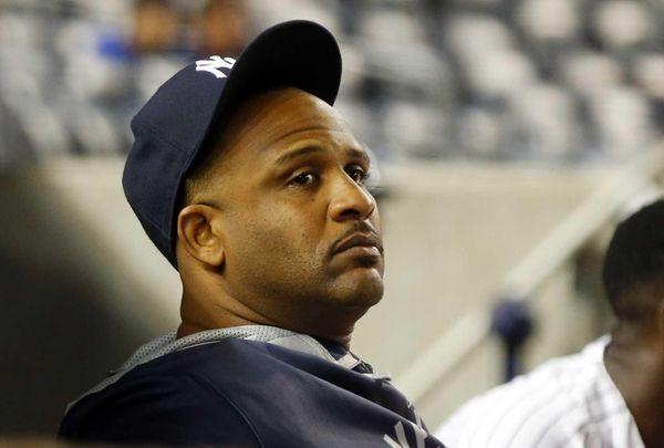 CC Sabathia of the New York Yankees looks