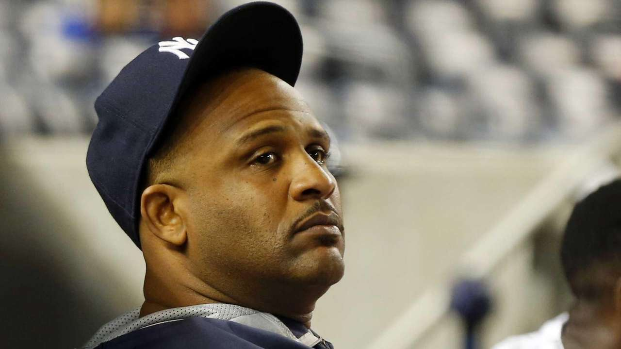 CC Sabathia of the New York Yankees looks