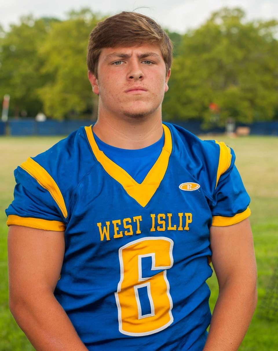 West Islip, senior Tight end/linebacker Two-way starter Mike