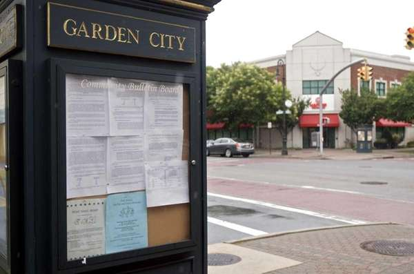 Downtown Garden City is shown on Aug. 9,