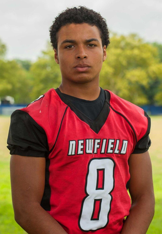 Newfield, senior Wide receiver/defensive back Elijah Riley made