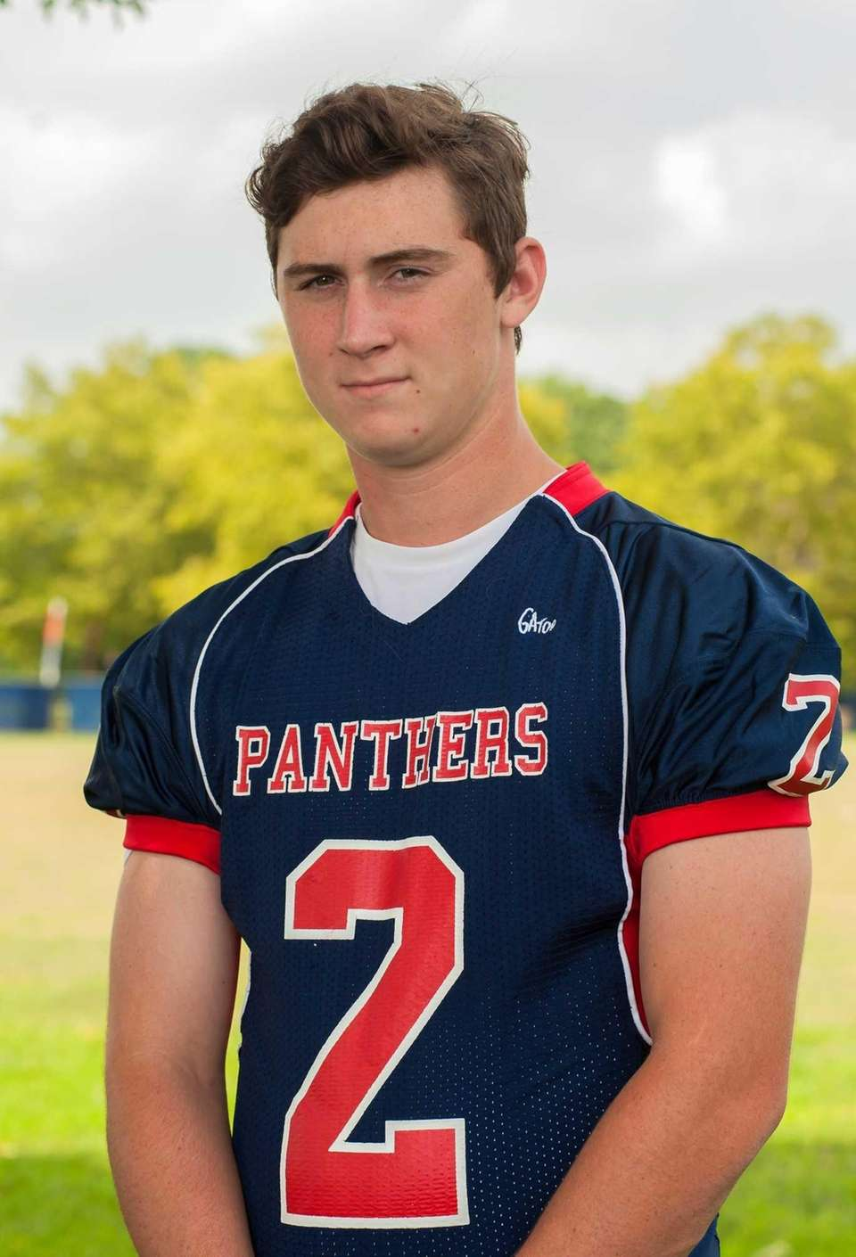 Miller Place, senior Quarterback Stephen Farrell passed for