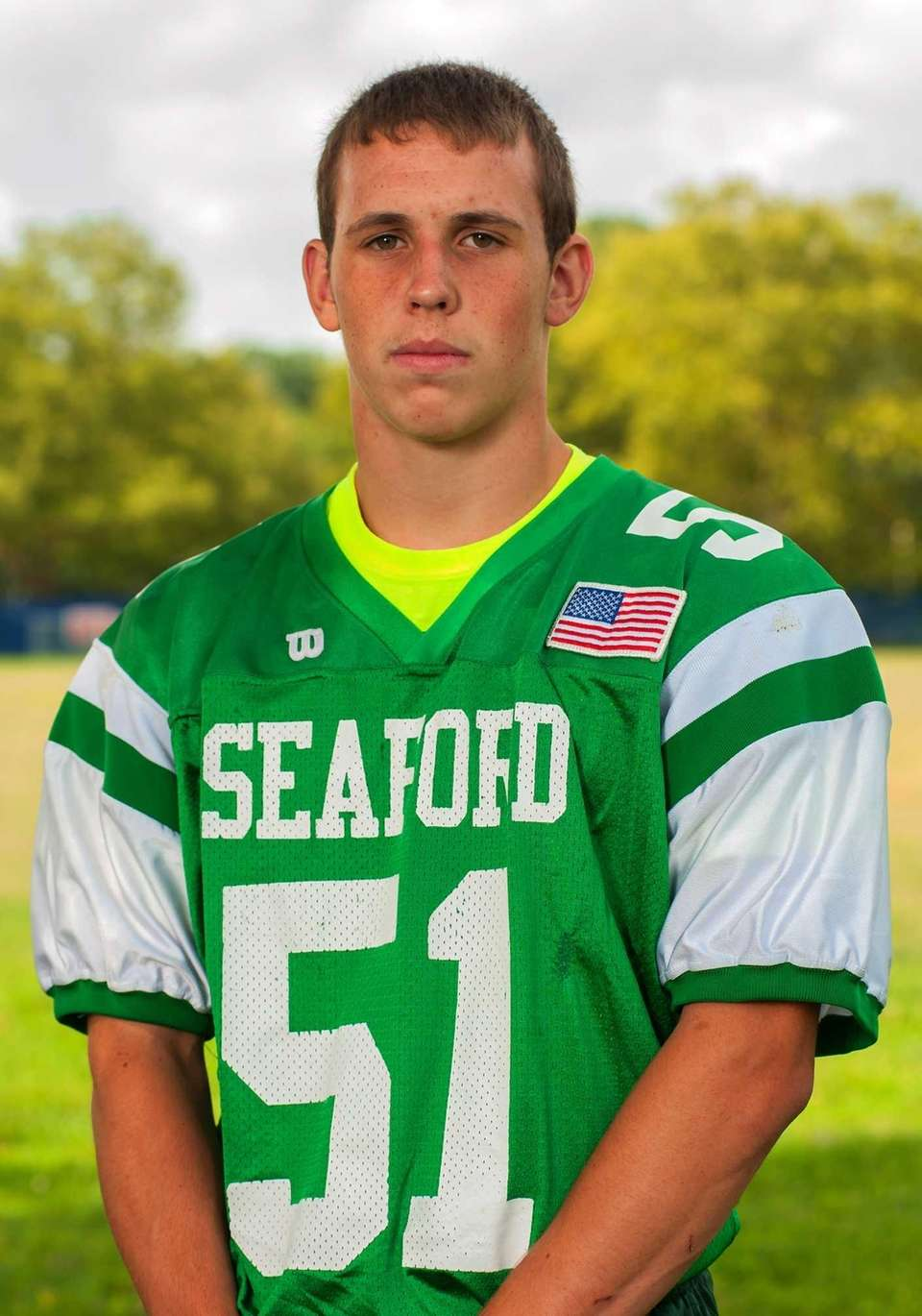Seaford, senior Center/linebacker Small but strong center Jack