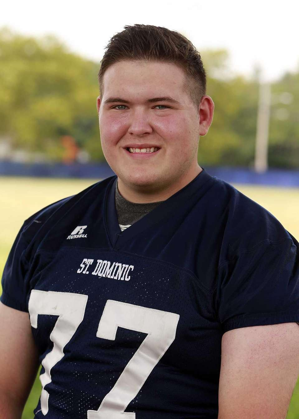 St. Dominic, senior Offensive lineman/defensive lineman Dan Isaacs