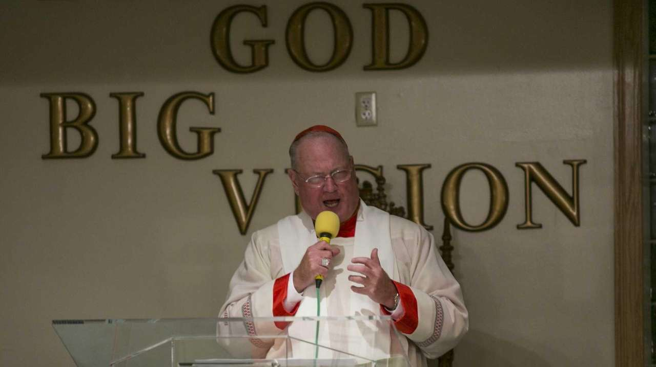 Cardinal Timothy Dolan at the Mt. Sinai United