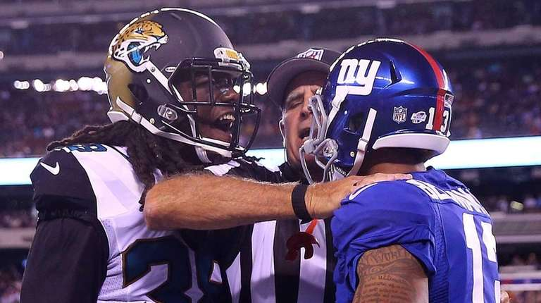 Sergio Brown #38 of the Jacksonville Jaguars and