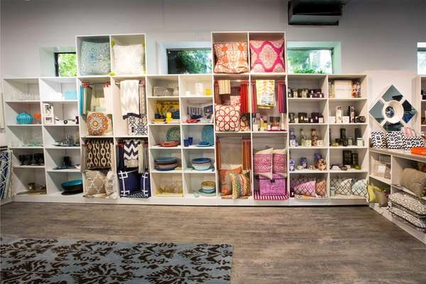 Some of the displays at Floor Decor &