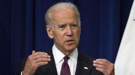 Vice President Joe Biden speaks in the South