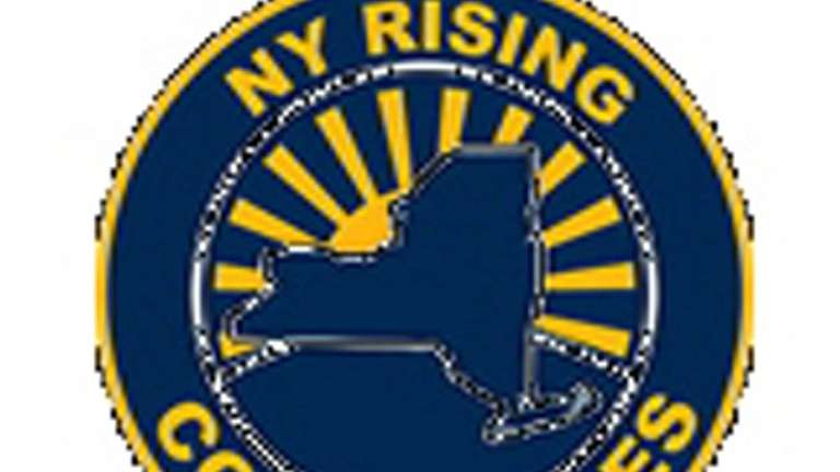 New York Rising Consultants logo that is strikingly