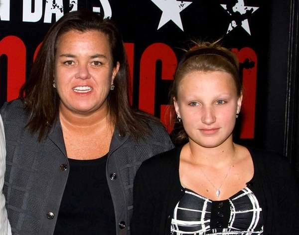 Rosie O'Donnell and daughter Chelsea at the opening