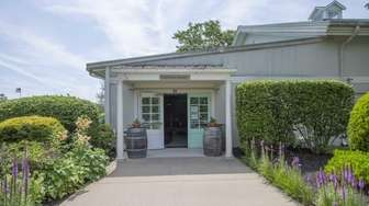 Bridge Lane's satellite tasting room in Mattituck